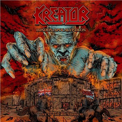 Kreator - London Apocalypticon - Live At The Roadhouse (CD + Blu-ray)