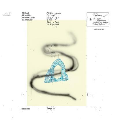 Recondite - Dwell (Blue Vinyl, 2 LPs)