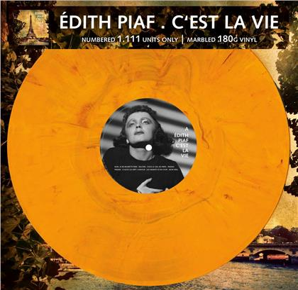 Edith Piaf - C'est La Vie (Marbled Vinyl, LP)
