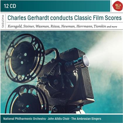 Charles Gerhardt - Charles Gerhardt Conducts Classic Film Scores (12 CDs)