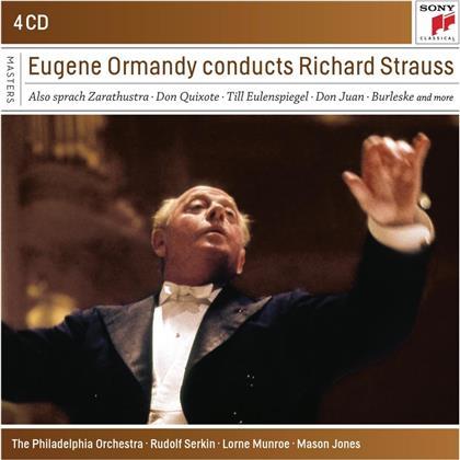 Eugene Ormandy & Richard Strauss (1864-1949) - Eugene Ormandy Conducts Richard Strauss (4 CDs)