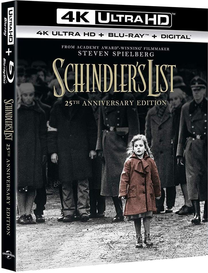 Schindler's List (1993) (25th Anniversary Special Edition, 4K Ultra HD + Blu-ray)