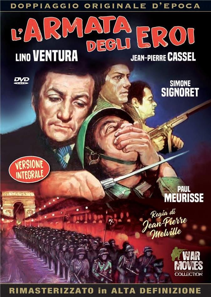 L'armata degli eroi (1969) (War Movies Collection, Doppiaggio Originale D'epoca, HD-Remastered, Versione Integrale)