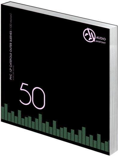 LP Schutzhüllen, PP, 80 Micron, transparent - 50 Stück