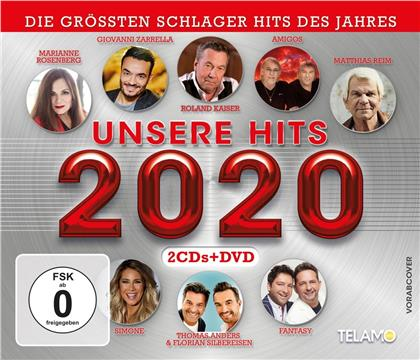 Unsere Hits 2020 (CD + DVD)