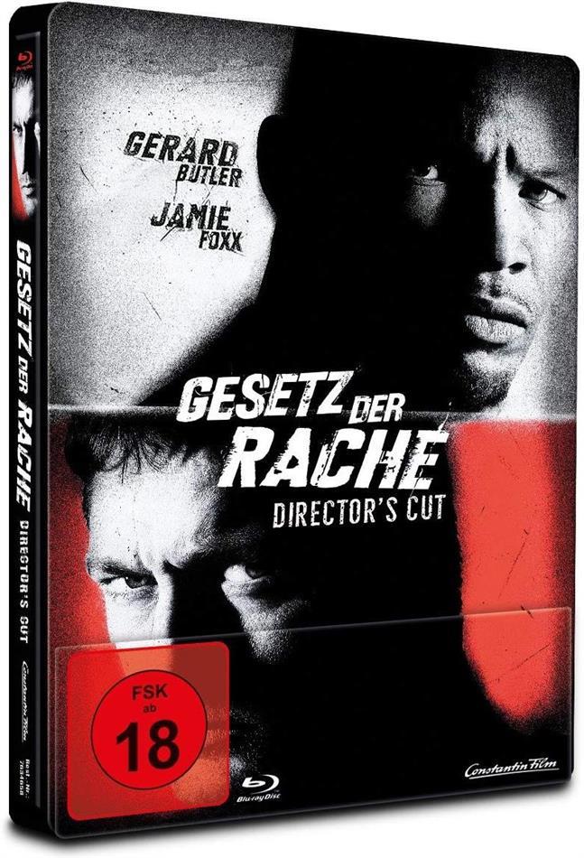 Gesetz der Rache (2009) (Director's Cut, Limited Edition, Steelbook)