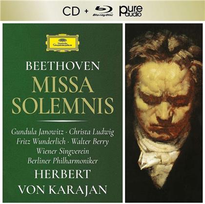 Ludwig van Beethoven (1770-1827), Gundula Janowitz, Christa Ludwig & Fritz Wunderlich - Missa Solemnis Op.123 (2 CDs)