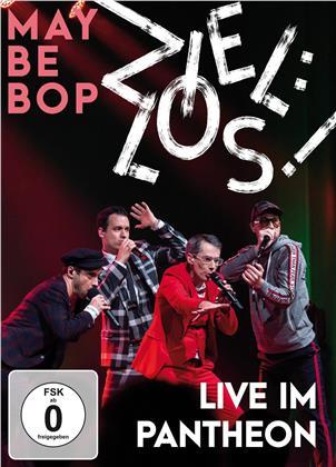 Maybebop - Ziel:los! Live im Pantheon (DVD + CD)