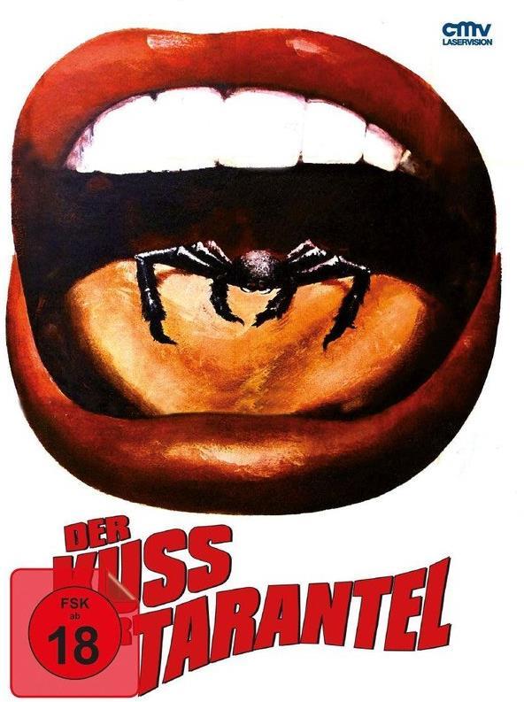 Der Kuss der Tarantel (1976) (Cover B, Edizione Limitata, Mediabook, Uncut, Blu-ray + DVD)