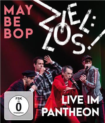 Maybebop - Ziel:los! Live im Pantheon (Blu-ray + CD)