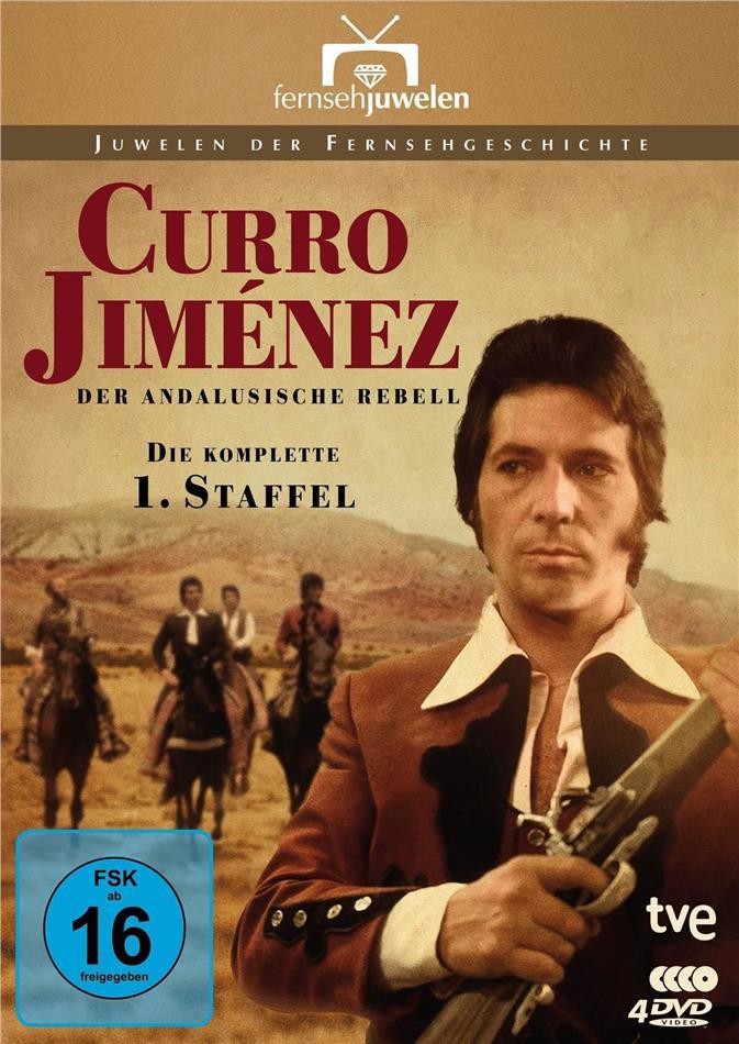Curro Jiménez: Der andalusische Rebell - Staffel 1 (Fernsehjuwelen, 4 DVDs)
