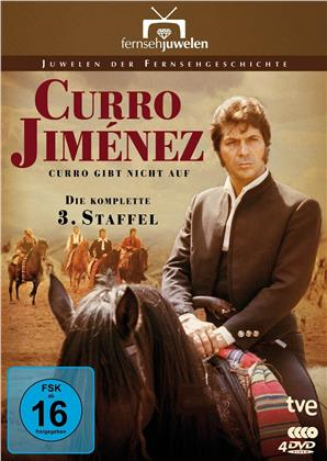Curro Jiménez: Curro gibt nicht auf - Staffel 3 (Fernsehjuwelen, 4 DVDs)