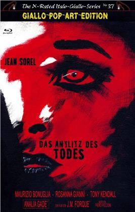 Das Antlitz des Todes (1971) (Grosse Hartbox, Cover B, Giallo-Pop-Art Edition, The X-Rated Italo-Giallo-Series, Limited Edition)