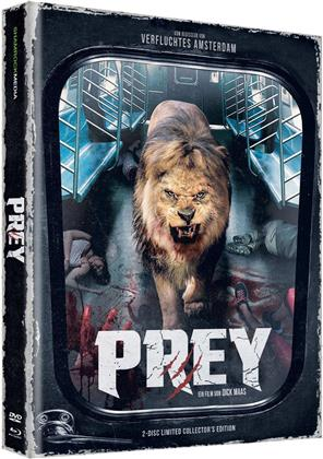 Prey (2016) (Cover F, Collector's Edition Limitata, Mediabook, Uncut, Blu-ray + DVD)