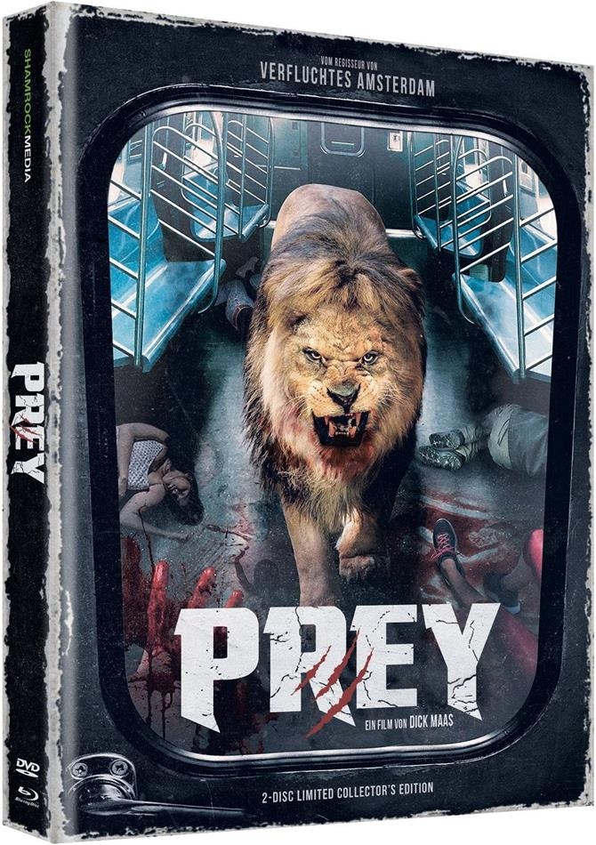 Prey (2016) (Cover F, Limited Collector's Edition, Mediabook, Uncut, Blu-ray + DVD)