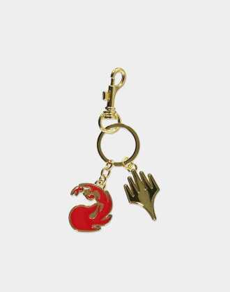 Magic: The Gathering - Red Mana Metal Keychain