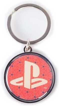 Playstation Biker - Metal Keychain