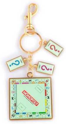 Hasbro - Monopoly - Metal Keychain With Charms