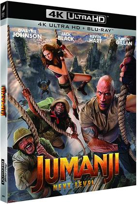 Jumanji 2 - Next Level (2019) (4K Ultra HD + Blu-ray)