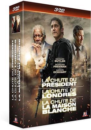 La chute du président / La chute de Londres / La chute de la Maison Blanche (3 DVDs)