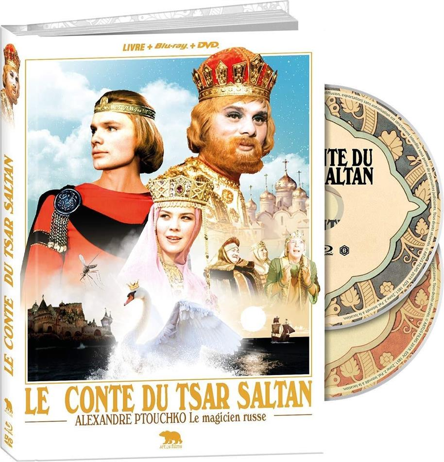 Le Conte du tsar Saltan (1967) (Collector's Edition, Blu-ray + DVD + Libretto)