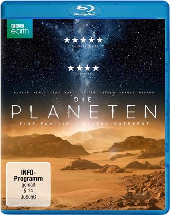Die Planeten - Eine Familie - Welten entfernt (BBC Earth, 2 Blu-rays)