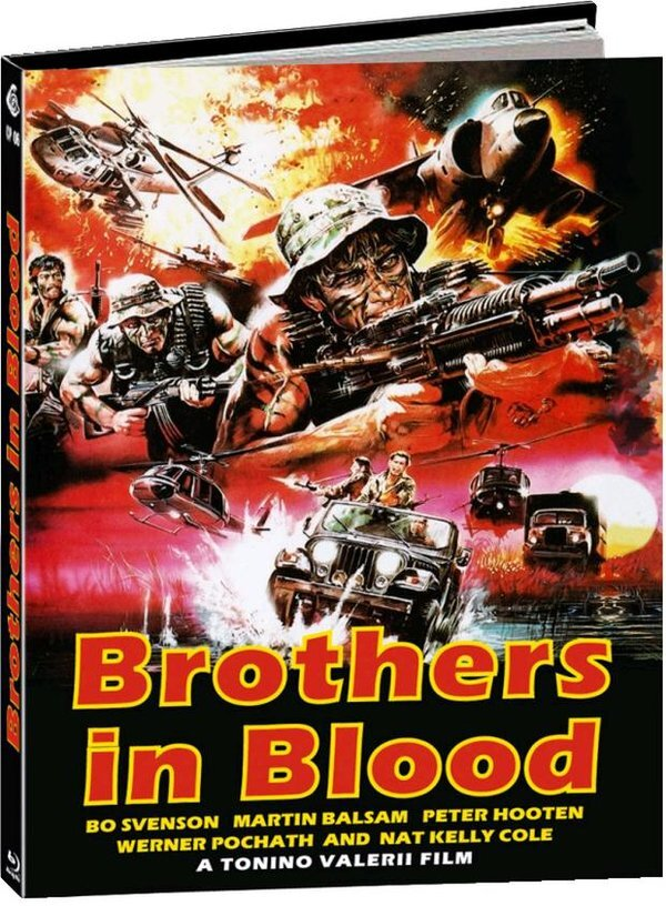 Brothers in Blood (1987) (Cover A, Limited Edition, Mediabook, Uncut)