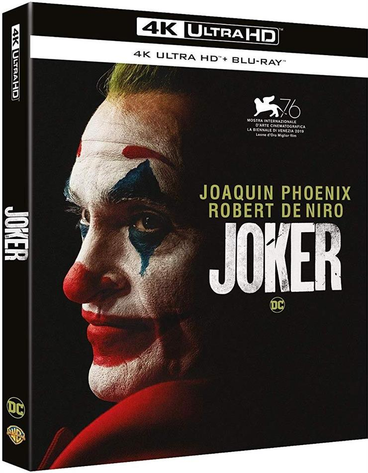 Joker (2019) (4K Ultra HD + Blu-ray)