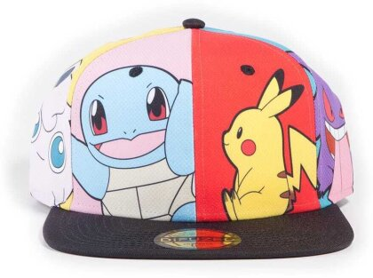 Pokémon - Multi Pop Art Snapback Cap
