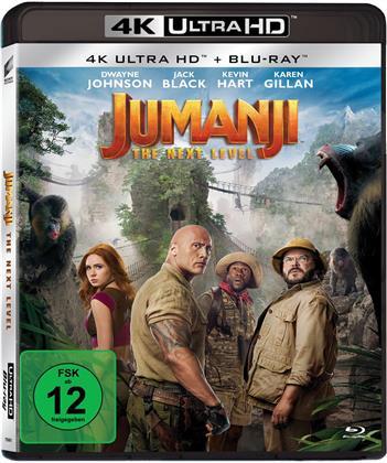Jumanji 2 - The Next Level (2019) (4K Ultra HD + Blu-ray)
