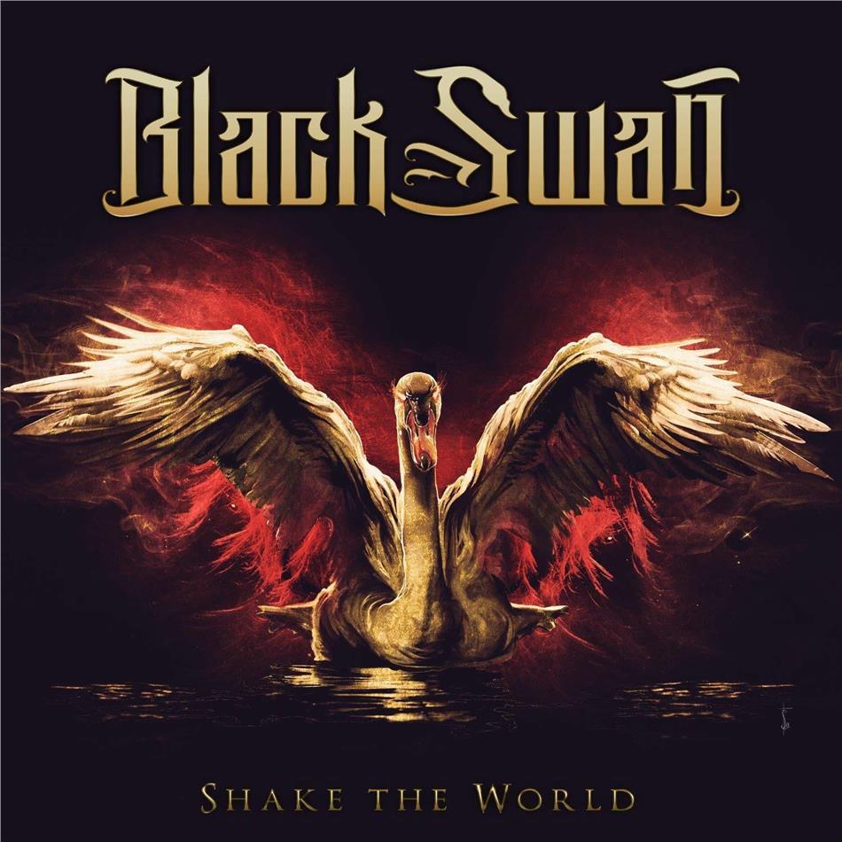 Black Swan (Robin McAuley/Jeff Pilson/Reb Beach/Matt Starr) - Shake The World (2 LPs)