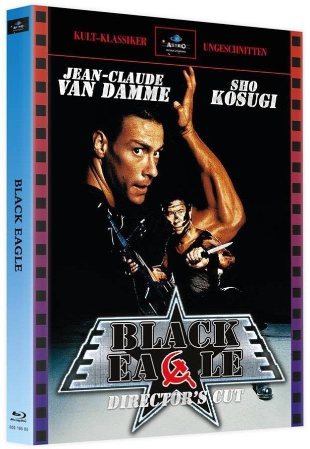Black Eagle (1988) (Kult-Klassiker Ungeschnitten, Cover A, Director's Cut, Limited Edition, Mediabook, Uncut, 2 Blu-rays)