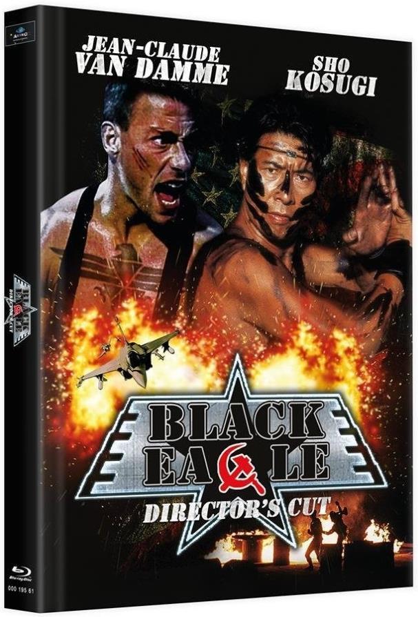 Black Eagle (1988) (Cover B, Director's Cut, Limited Edition, Mediabook, Uncut, 2 Blu-rays)