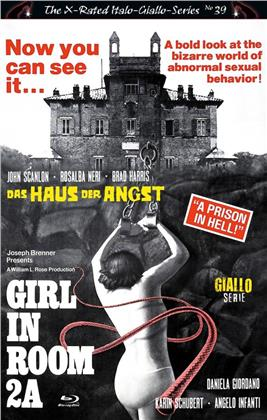 Girl in Room 2A - Das Haus der Angst (1974) (Grosse Hartbox, Cover C, The X-Rated Italo-Giallo-Series, Giallo Serie, Limited Edition)