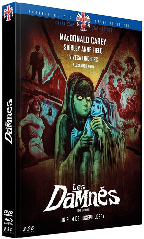 Les Damnés (1963) (Limited Edition, Mediabook, Blu-ray + DVD)