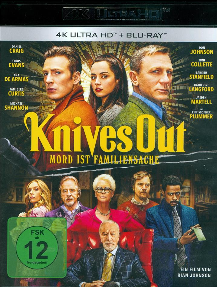 Knives Out - Mord ist Familiensache (2019) (4K Ultra HD + Blu-ray)
