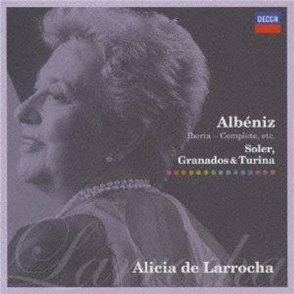 Alicia de Larrocha, Isaac Albéniz (1860-1909), Padre Antonio Soler (1729-1783), Enrique Granados (1867-1916) & Joaquin Turina Peréz (1882-1949) - Iberia (Japan Edition, 2 CDs)