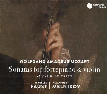 W.A. Mozart, Wolfgang Amadeus Mozart (1756-1791), Isabelle Faust & Alexander Melnikov - Sonatas For Fortepiano & Violin