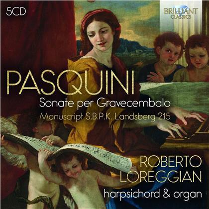 Bernardo Pasquini (1637-1710) & Roberto Loreggian - Sonate Per Gravecembalo (5 CDs)