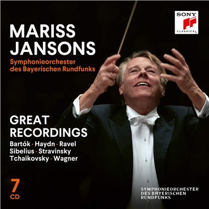 Mariss Jansons & Symphonieorchester des Bayerischen Rundfunks - Great Recordings (7 CDs)