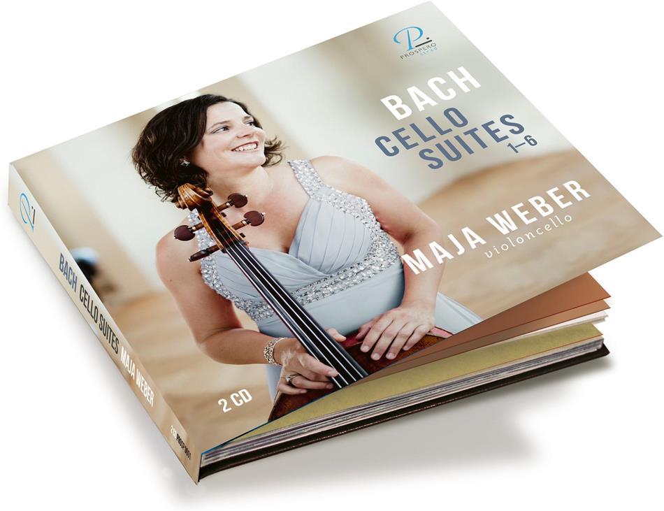Johann Sebastian Bach (1685-1750) & Maja Weber - Suites for Violoncello 1-6 (2 CDs)