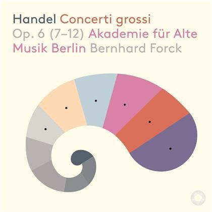 Georg Friedrich Händel (1685-1759), Bernhard Forck & Akademie für Alte Musik Berlin - Concerti Grossi Op. 6 (SACD)
