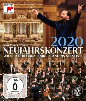 Wiener Philharmoniker & Andris Nelsons - Neujahrskonzert 2020 / New Year's Concert 2020 (Sony Classical)