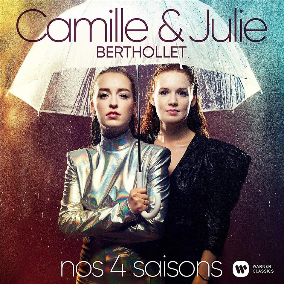 Camille Berthollet, Julie Berthollet & Antonio Vivaldi (1678-1741) - Nos 4 Saisons