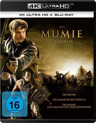 Die Mumie - Trilogie (Neuauflage, 3 4K Ultra HDs + 3 Blu-rays)