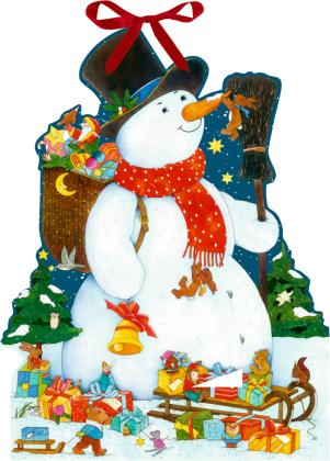 Wandkalender - Der glückliche Schneemann