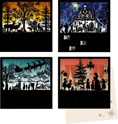 Stille Nacht - Mini-Adventskalender-Sortiment