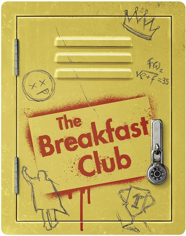 The Breakfast Club (1985) (35th Anniversary Edition, Steelbook, 2 Blu-rays)