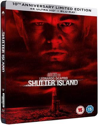 Shutter Island (2010) (Steelbook, 4K Ultra HD + Blu-ray)