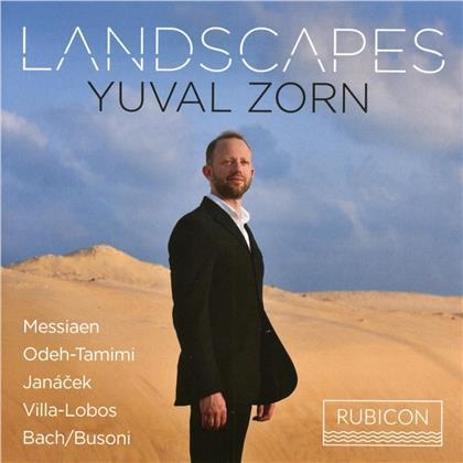 Yuval Zorn, Olivier Messiaen (1908-1992), S. Odeh-Tamimi, Leos Janácek (1854-1928), Heitor Villa-Lobos (1887-1959), … - Landscapes